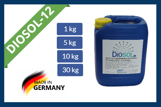 Hydrogen peroxide disinfectant Diosol-12