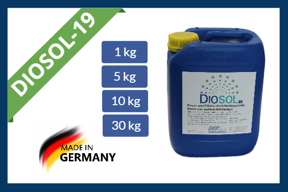 Hydrogen peroxide disinfectant Diosol-19