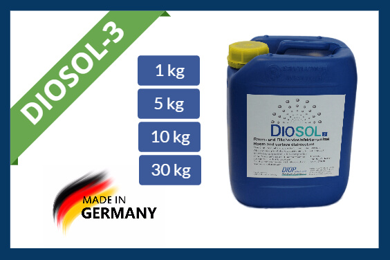 Hydrogen peroxide disinfectant Diosol-3