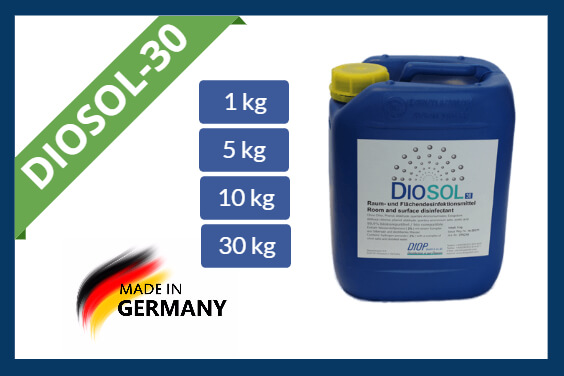 Hydrogen peroxide disinfectant Diosol-30