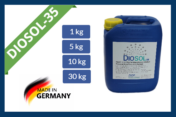 Hydrogen peroxide disinfectant Diosol-35