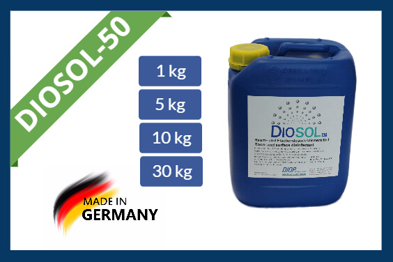 Hydrogen peroxide disinfectant Diosol-50