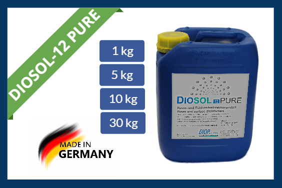 Hydrogen peroxide disinfectant Diosol-12 PURE