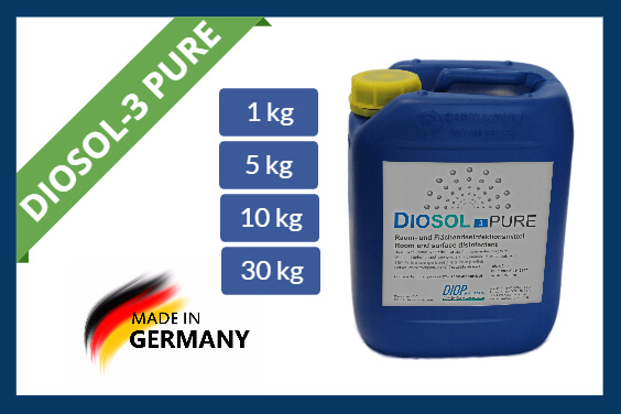 Hydrogen peroxide disinfectant Diosol-3 PURE
