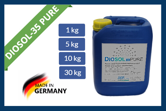 Hydrogen peroxide disinfectant Diosol-35 PURE