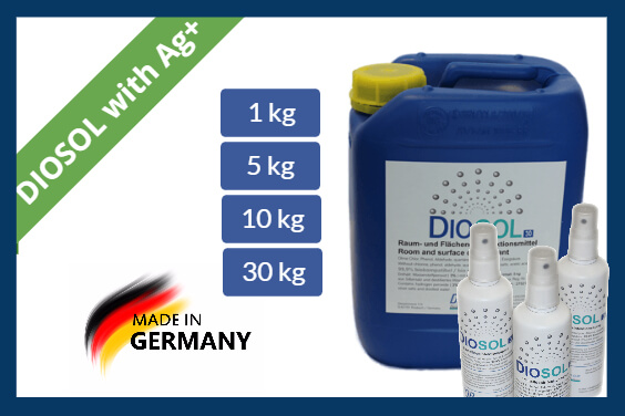 Hydrogen peroxide disinfectants Diosol