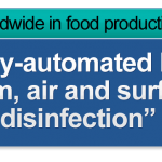 Food production disinfection
