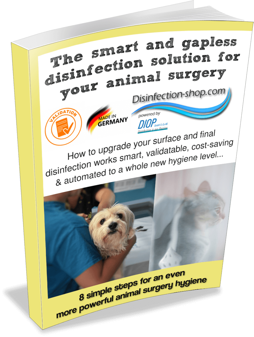 Veterinary practice disinfection