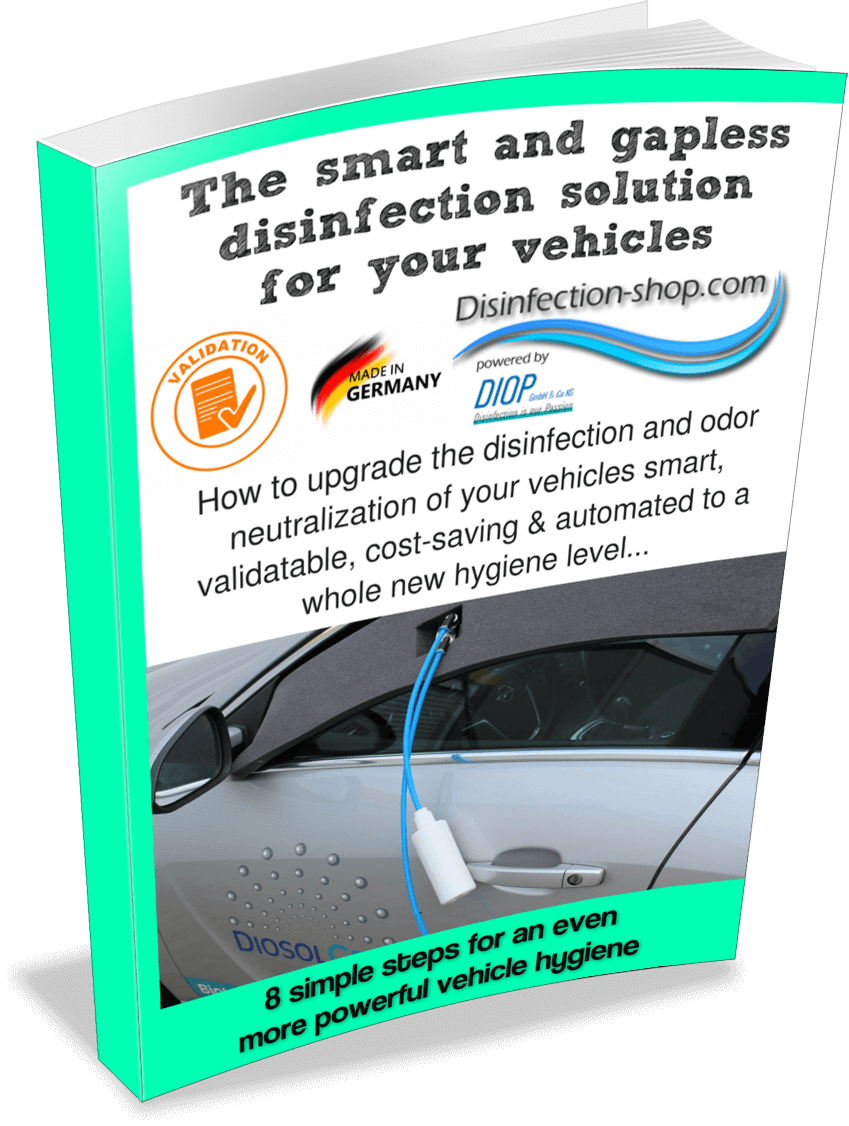 Car disinfection machine