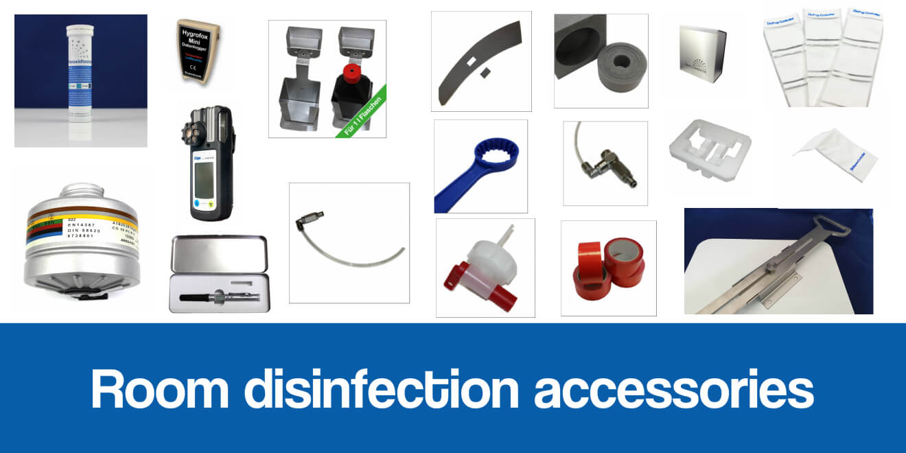 Disinfection accessories