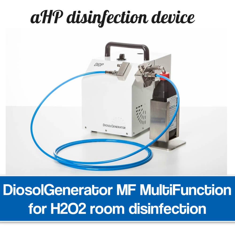 H2O2 room disinfection machine