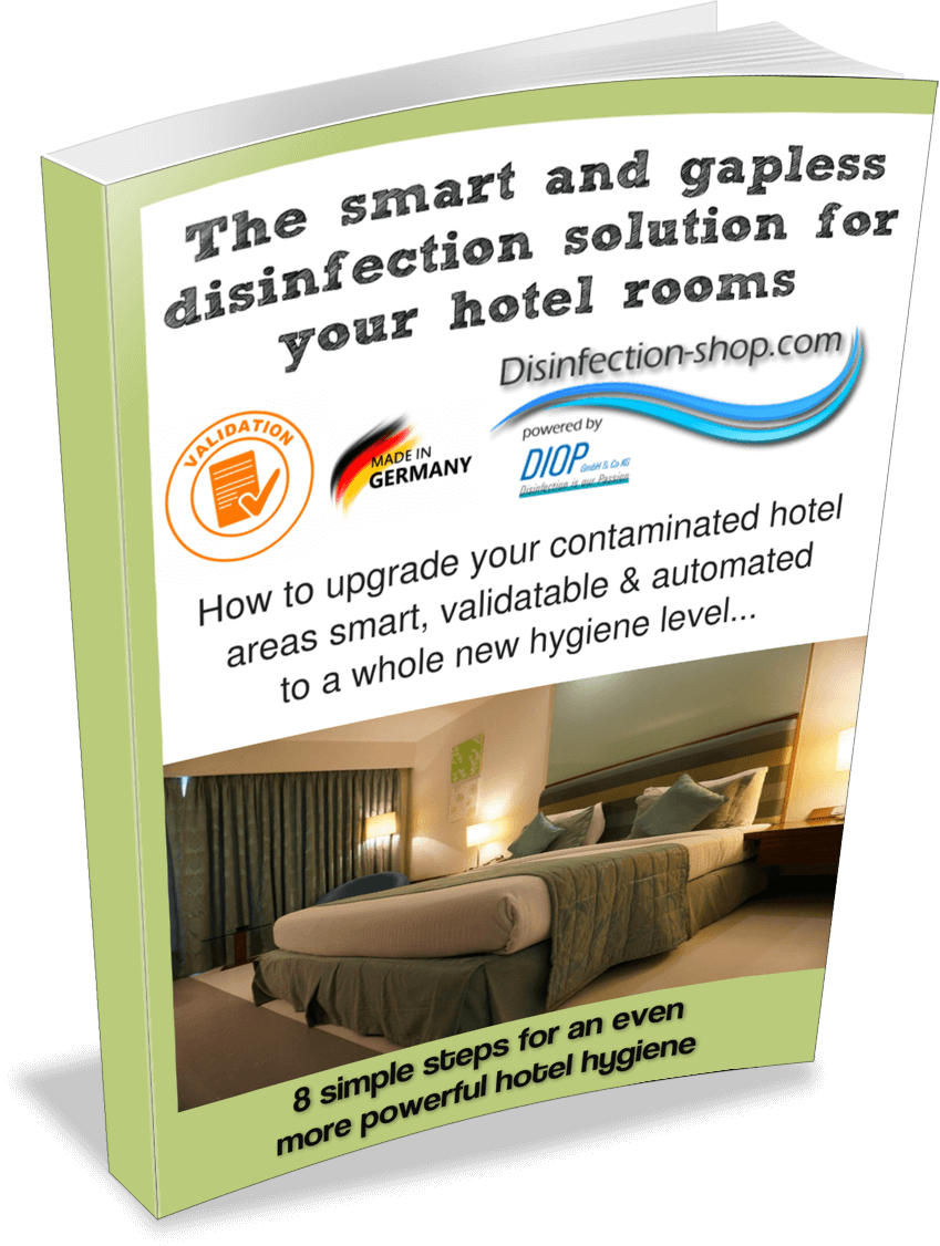 Hotel room disinfection