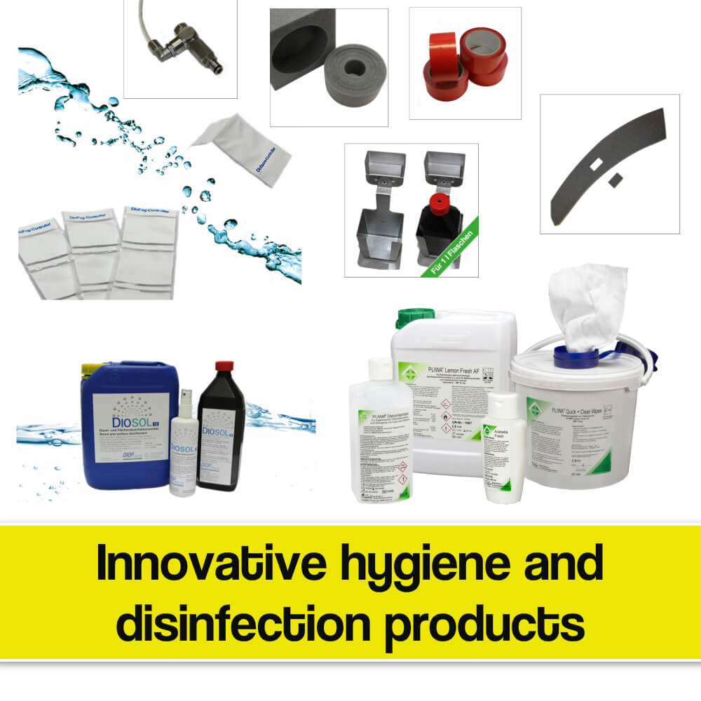 Innovative disinfection products