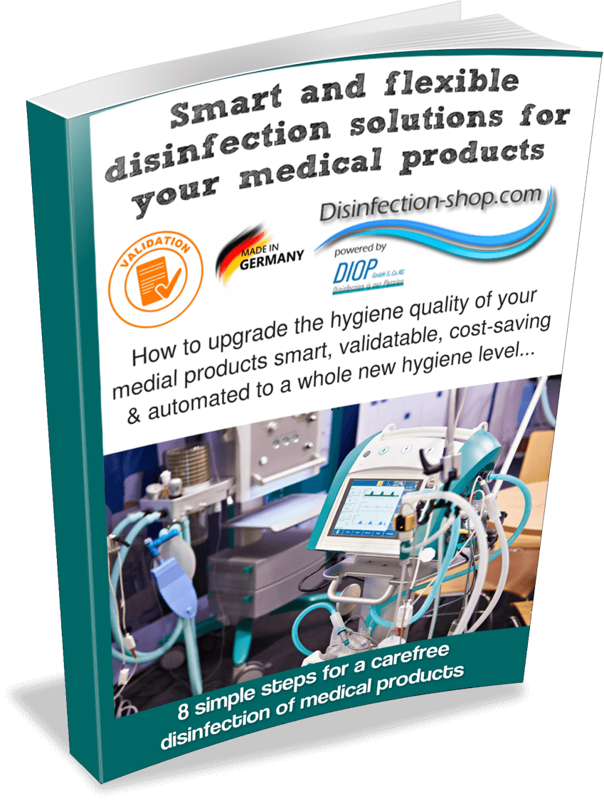 Medical product disinfection