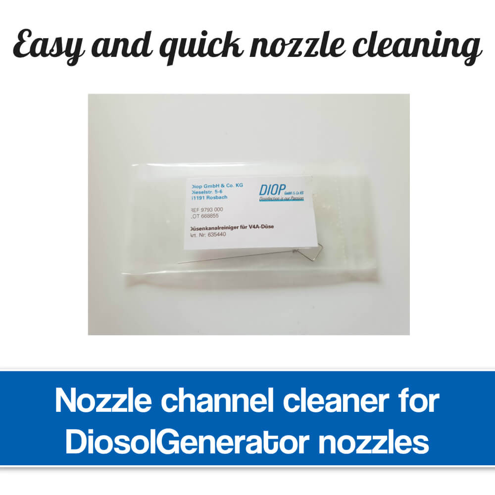 Nozzle channel cleaner