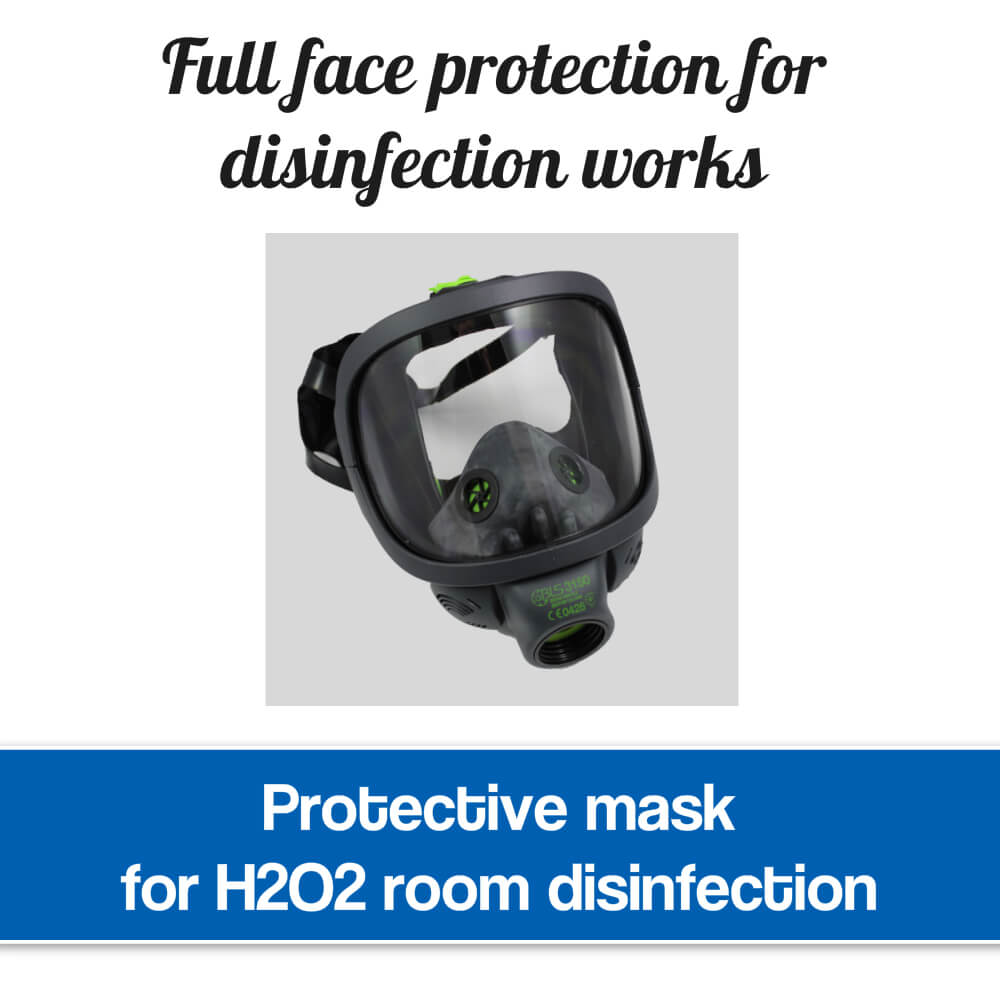 Protective mask for disinfection