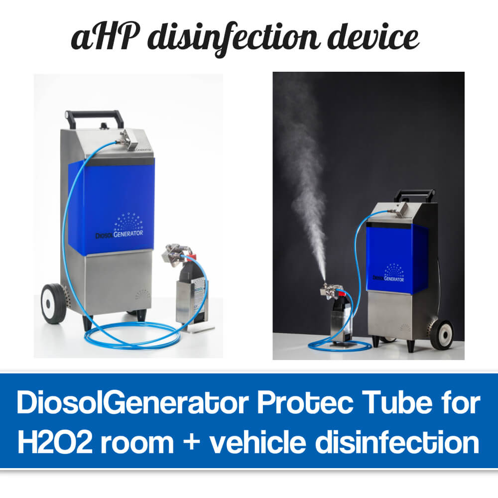 Room decontamination device