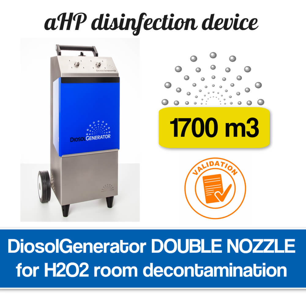H2O2 airborne disinfection system