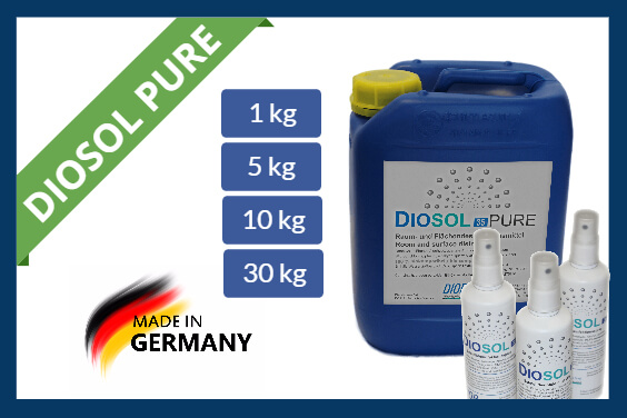 PURE Hydrogen peroxide disinfectants Diosol