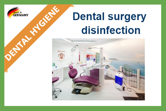 Dental surgery disinfection